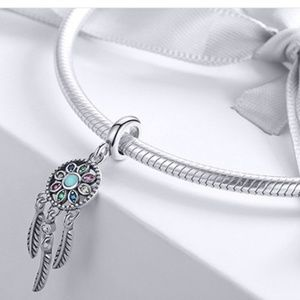 Jewelry - New Dreamcatcher 925 Sterling Silver Pendant/Charm